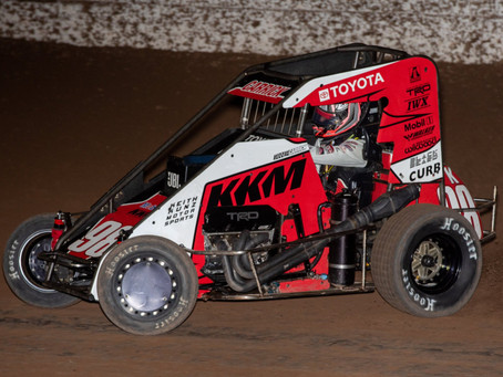 Tanner Carrick Picks Up Pair of Top-10's To Begin Reunion with Keith Kunz Motorsports