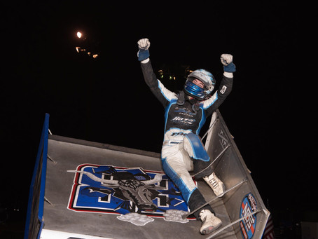 Moles Rides Momentum of First Sprint Car Win into 27th Trophy Cup with Roth Motorsports