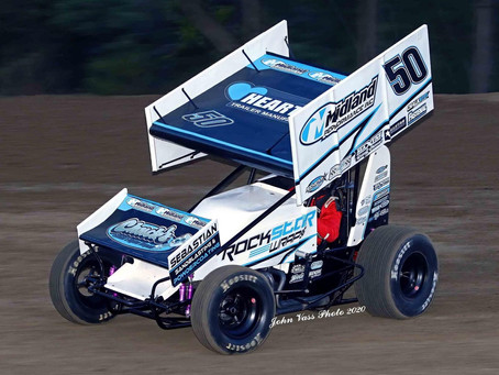 Paul Nienhiser Second with Sprint Invaders; Clinches Team Championship for Scott Bonar