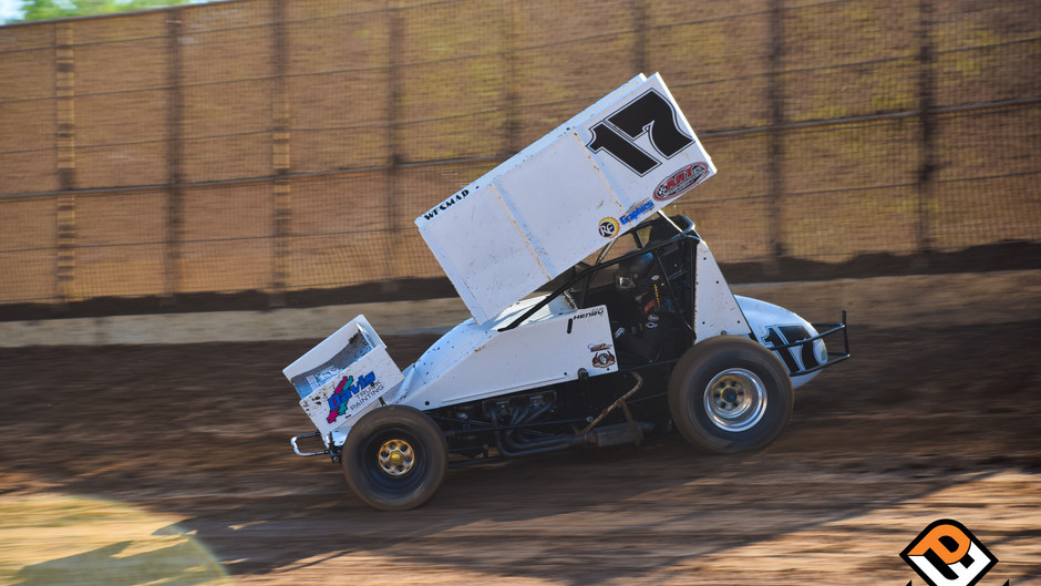 Kalib Henry Records Placerville Speedway Top-10