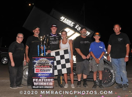 Spencer Bayston Makes First KWS Start Memorable as He Clean Sweeps with Tarlton Motorsports