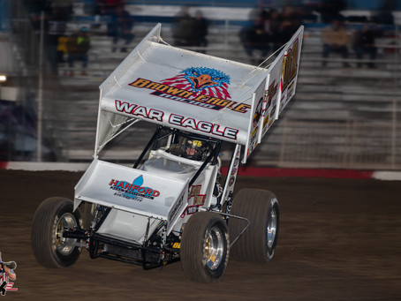 Andy Gregg Eighth with Brown-Eagle Racing