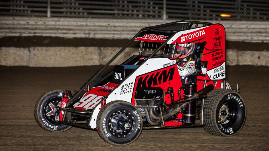 Tanner Carrick Claims Two Top-10's with Keith Kunz Motorsports to Open 2021 Season