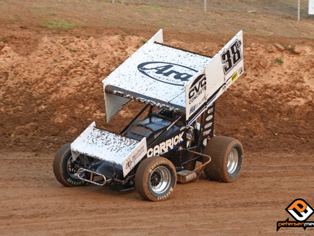 Blake Carrick Closes Placerville Speedway's 2020 Season on the Podium