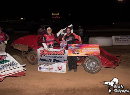 Bobby Hogge and Garrett Jernagen Score Wins at Placerville Speedway to Open IMCA CA Speedweek