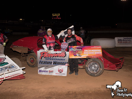 Bobby Hogge and Garrett Jernagen Score Wins at Placerville Speedway to Open IMCA CA Speedweek