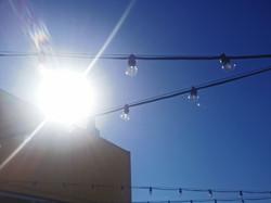 lights at Beach Street