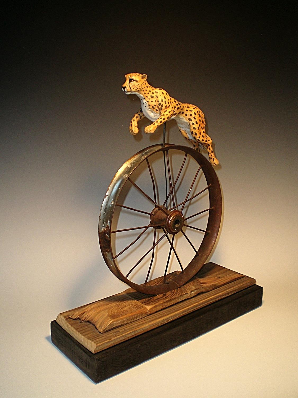 Wheeled Cheetah