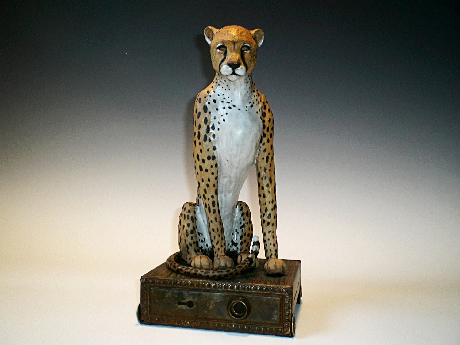 Seated Cheetah
