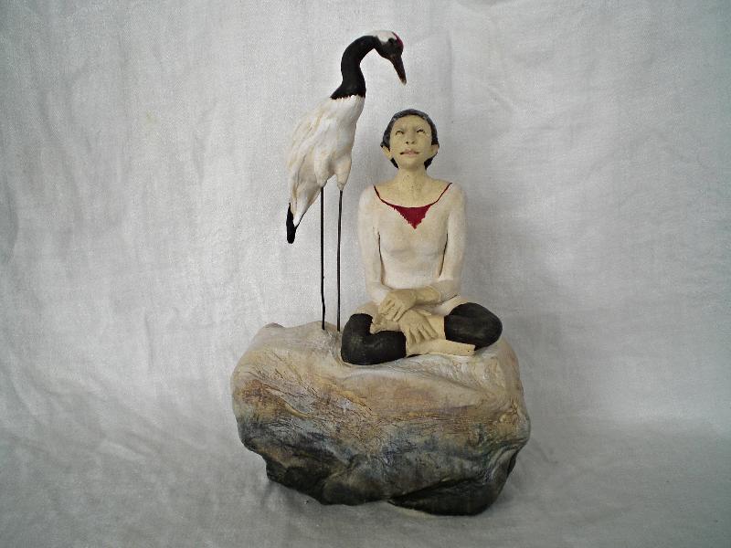 Meditation on a Crane