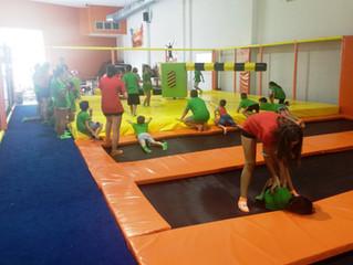 Ocio y deporte en Jumping Warrior
