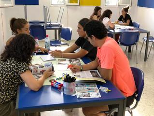 """El Equipo Socioeducativo trabaja mediante la dinámica del """"Golden Circle""""."""