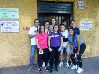 Visitamos el Centro de Mediación y la Asociación Pro Derechos Humanos