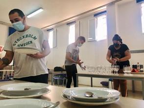Iniciamos el curso de operaciones básicas de catering y restaurante-bar