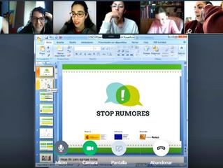 Los voluntarios de Estrella Azahara ponen freno a los #Rumores