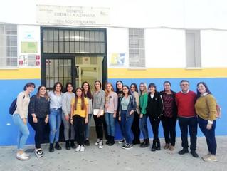 "Visita de alumnas del centro de estudios  ""Juan Pérez Marín I"""