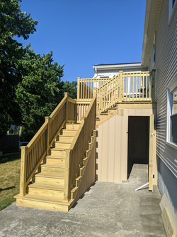 Braintree PT deck with Azek Dryspace