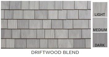 Cedar Impressions Individual Sawmill Shingle - Driftwood