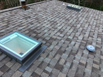 Velux Fixed Curb Mount 2230 with Solar Blind
