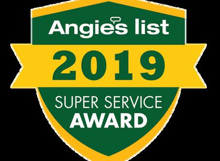 Beantown Home Improvements Earns 2019 Angie's List Super Service Award