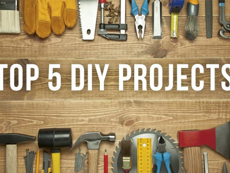 5 DIY Projects for This Weekend