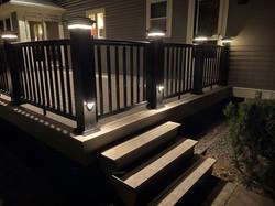 Beantown deck with lighting in Bridgewater