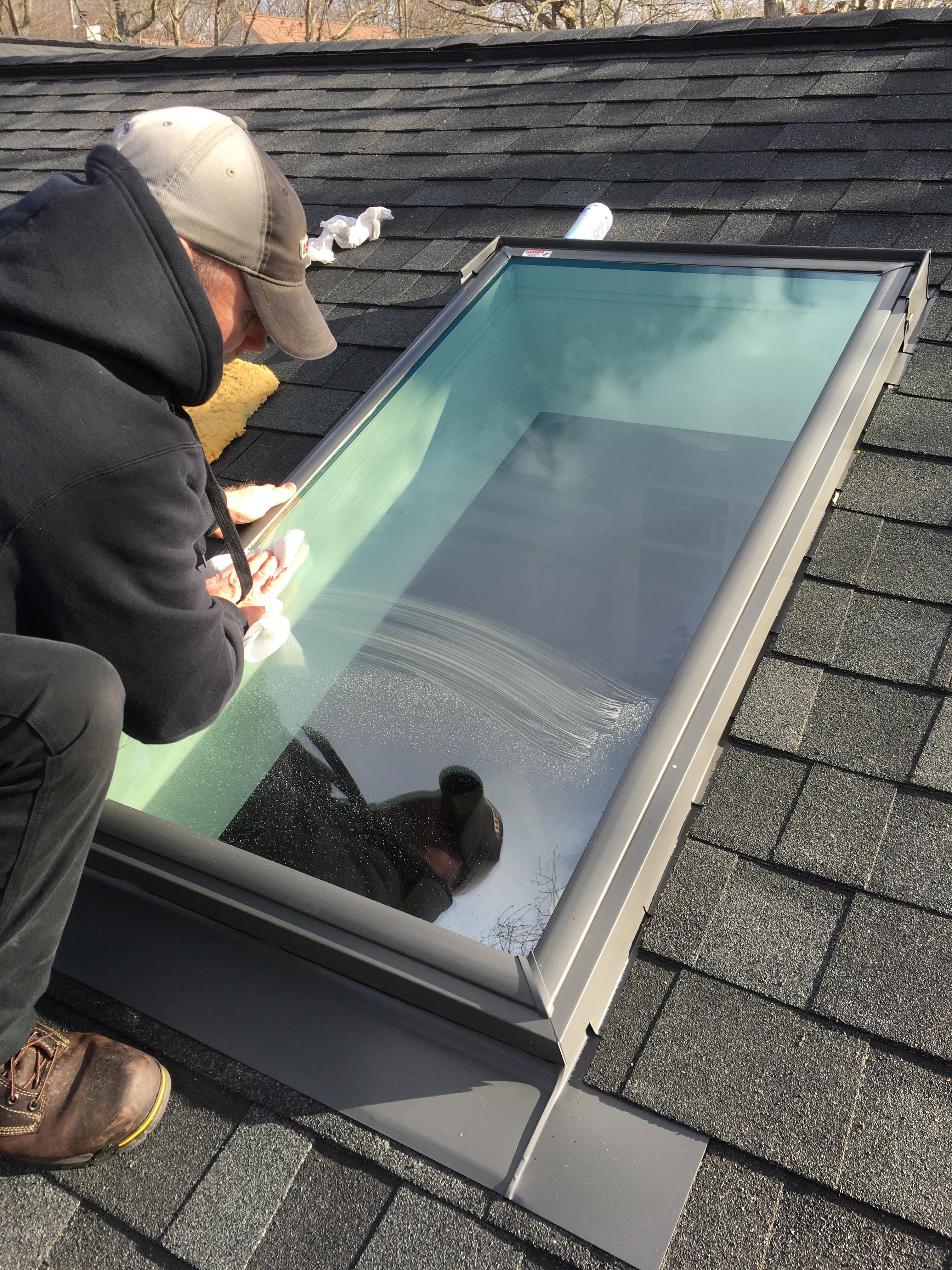 Velux Skylight Install