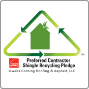 Beantown Home Improvements takes the Preferred Contractor Shingle Recycling Pledge