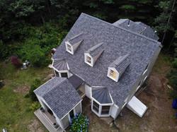 Pocassett Roof with Skylights