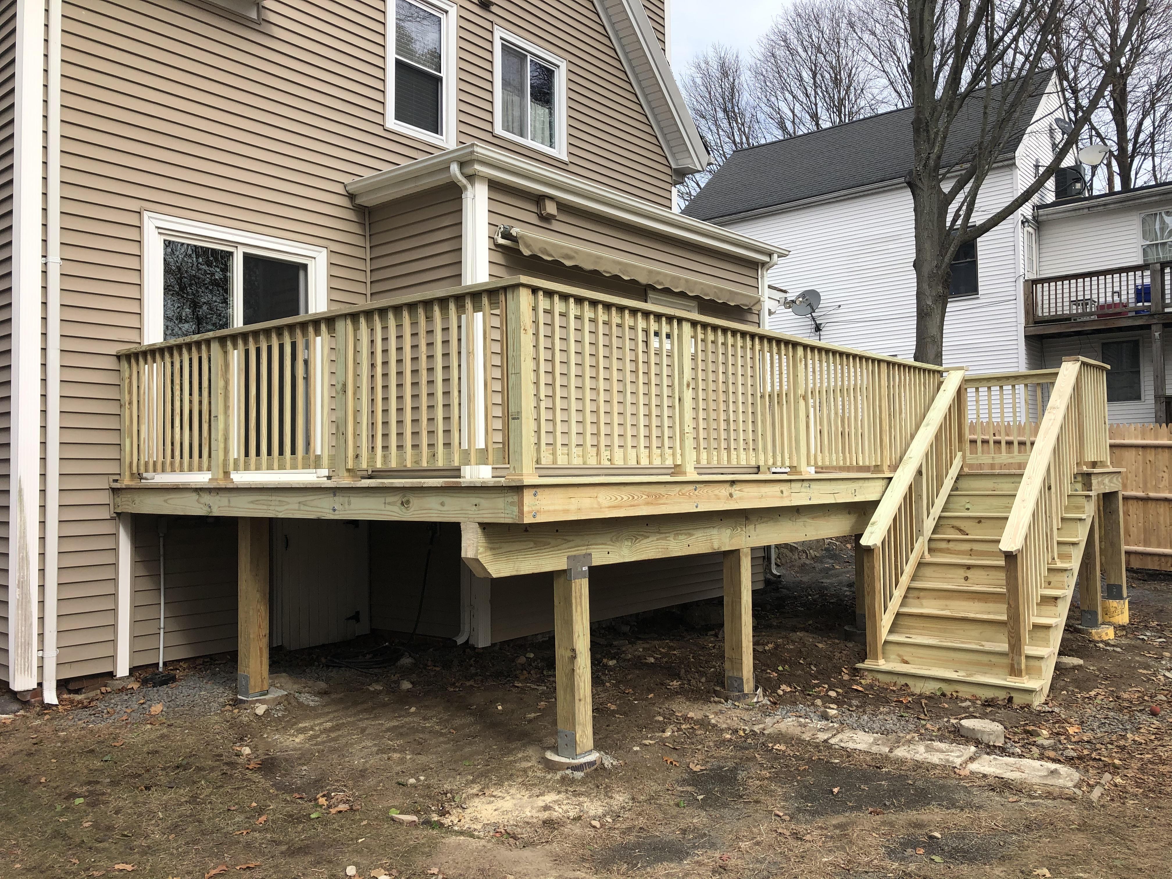 New Deck in Rockland