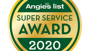 Beantown Wins 2020 Angie's List Super Service Award 6 Years in a Row!