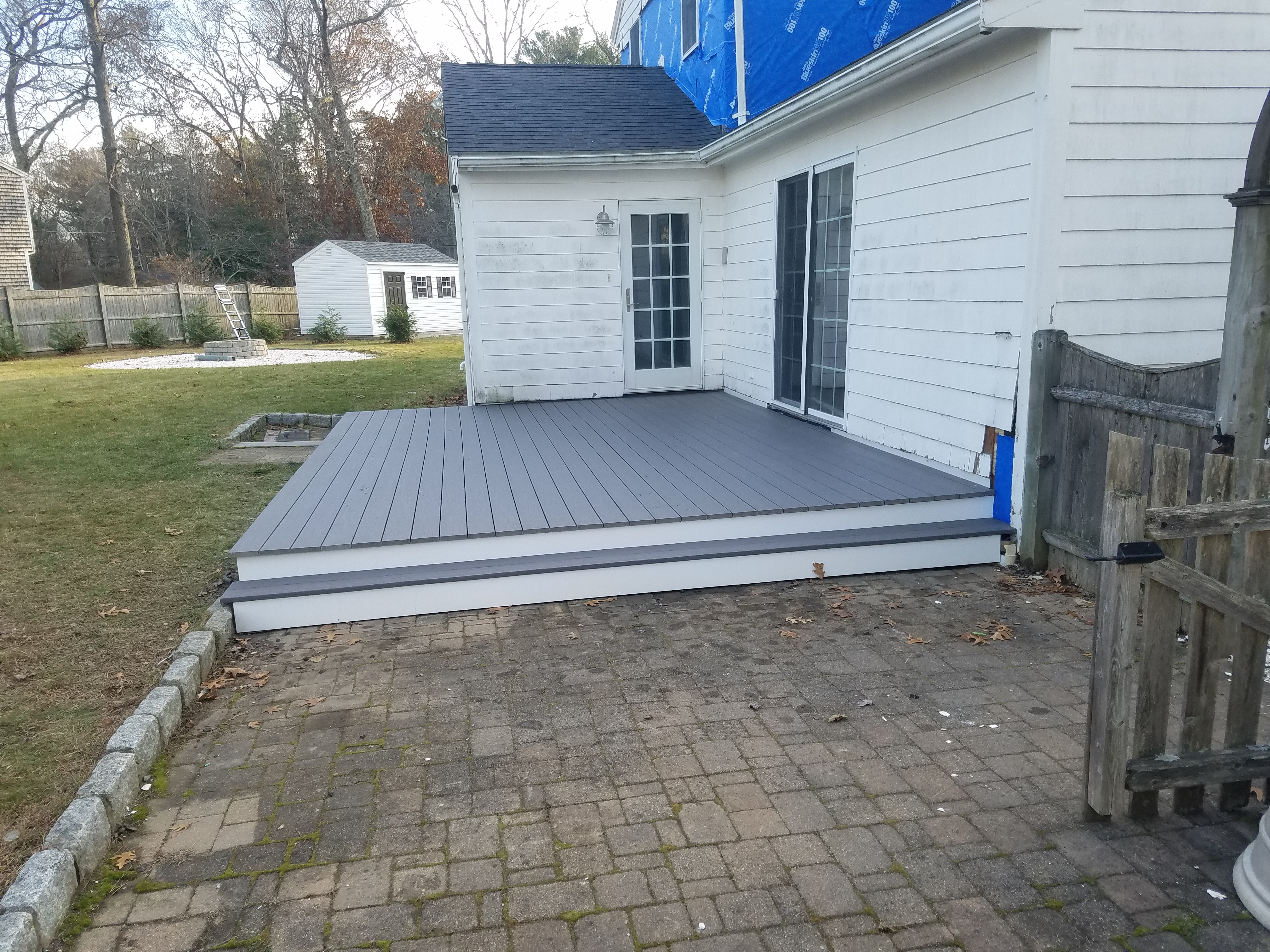 Marsjfield Island Oak Azek Deck