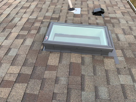 Mobile Home Curb Mount Skylight