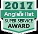 2017 Angie'sList Super Service Award