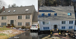 Bridgewater Roof, Before & After