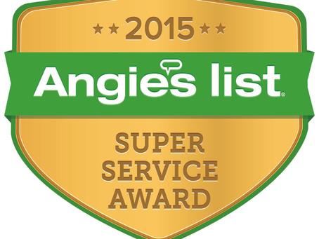 Beantown Home Improvements, Inc. Earns Three (3) Esteemed 2015 Angie's List Super Service Awards