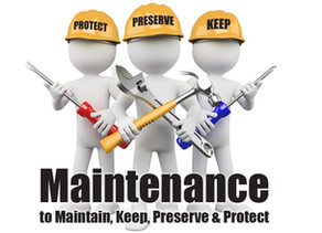 What preventative maintenance can the average homeowner do on...