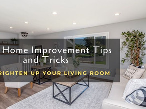Easy Home Improvement Tips and Tricks to brighten up your Living Room