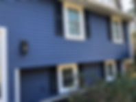 Midnight Blue Vinyl Siding Bridgewater
