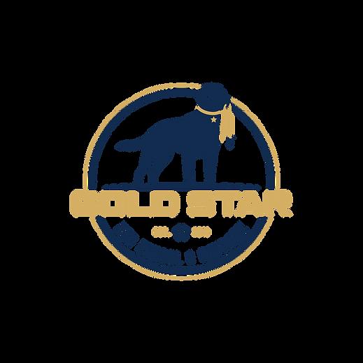 Gold Star Dog School and Daycare RGB log
