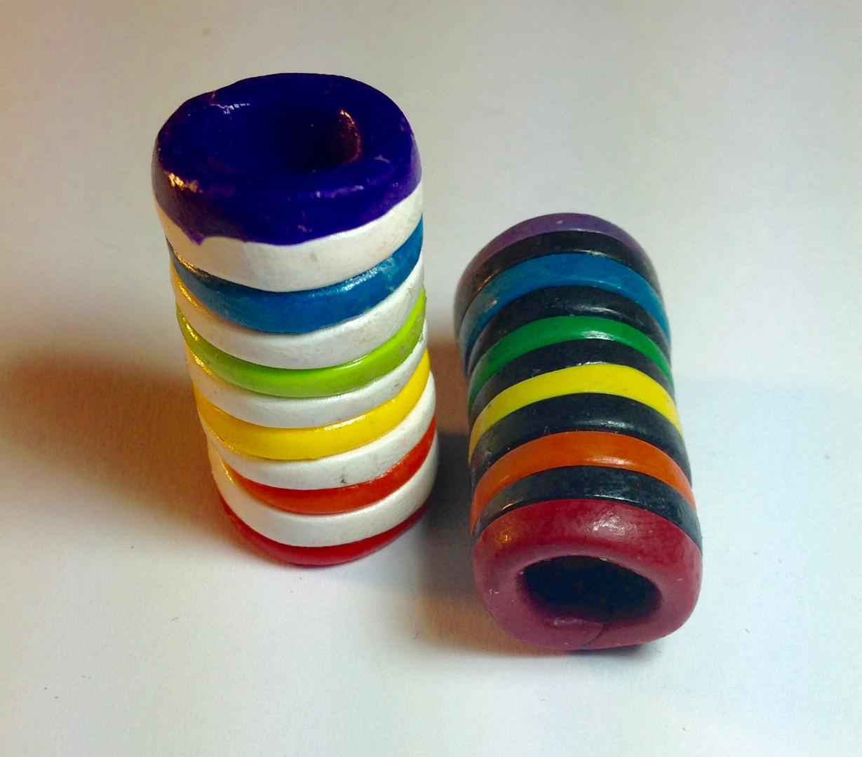 Rainbow x B&W Beads