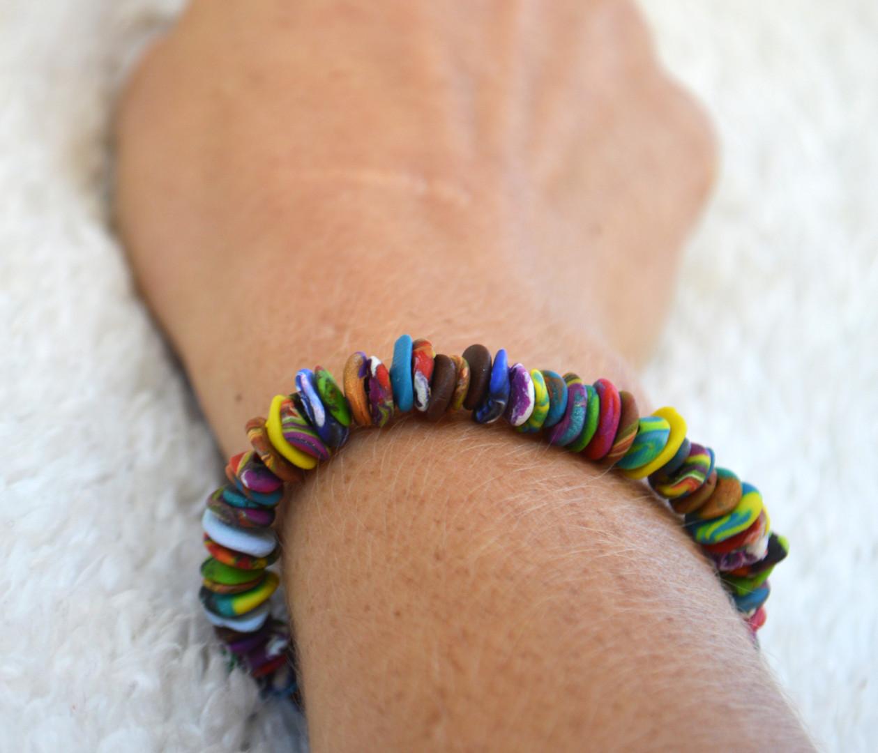 Lrg Flatbead Bracelet