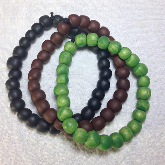 1 Colour Bracelets