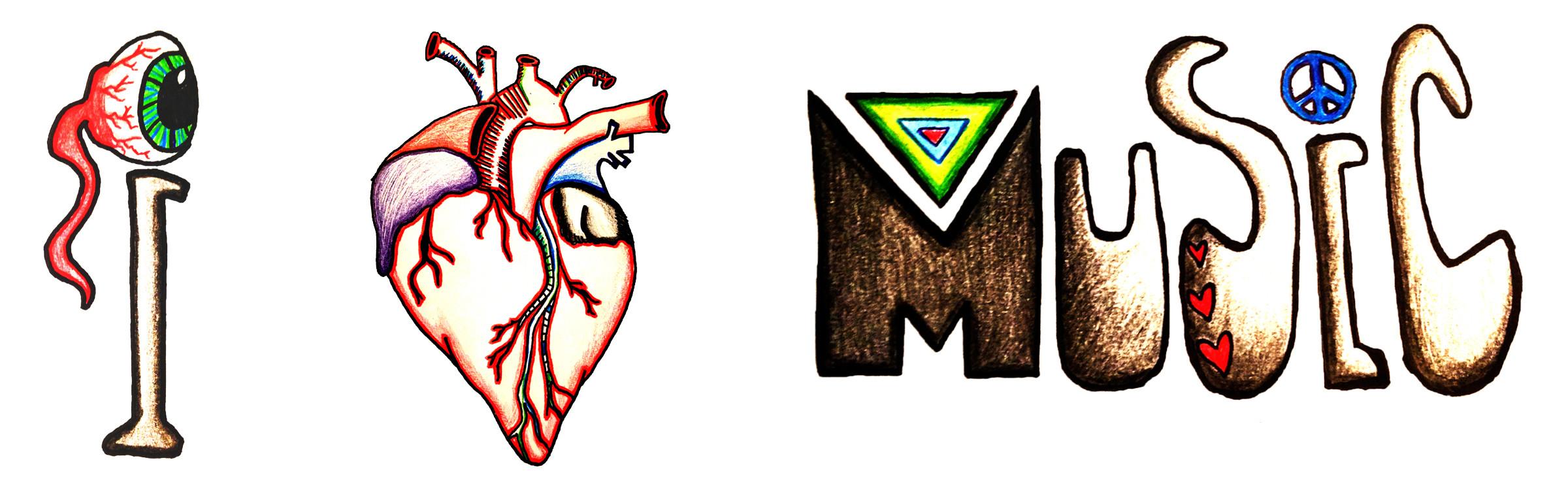 I Heart Music - $5