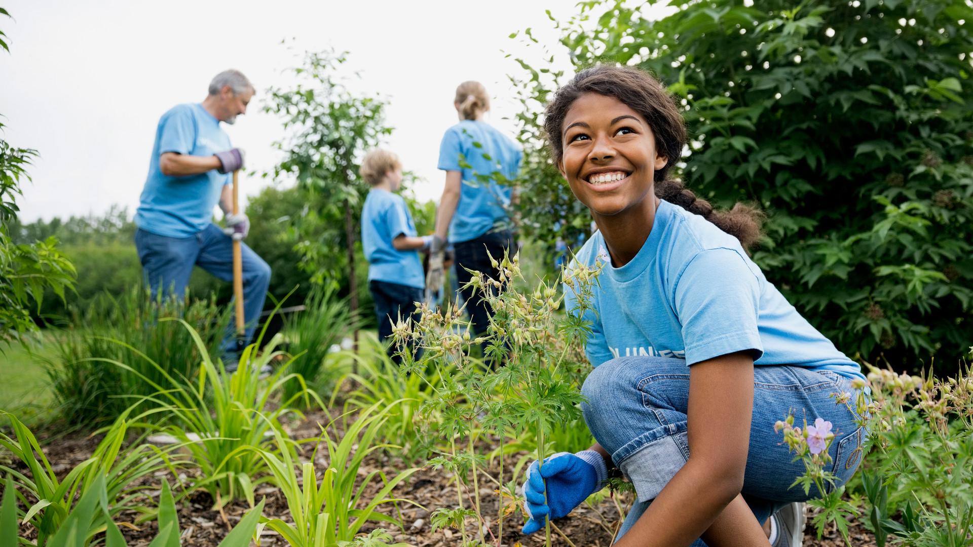 Gönüllüler-Bahçe