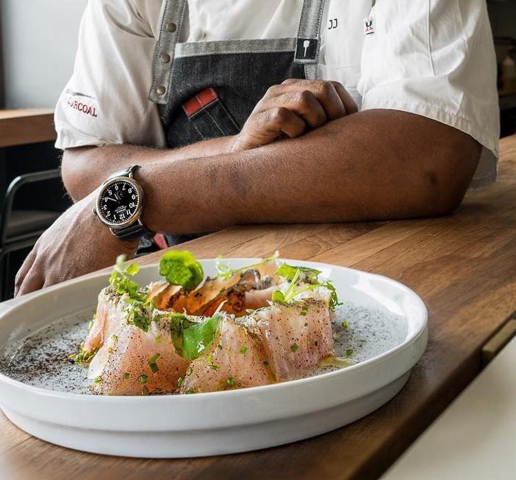 Baja Kanpachi Over Coals Photo by Chef Joe