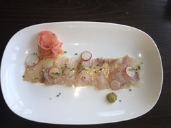 Omega Azul Baja Kanpachi Sashimi