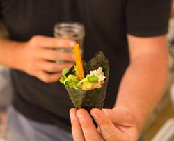 Omega Azul Seafood Kanpachi Cones