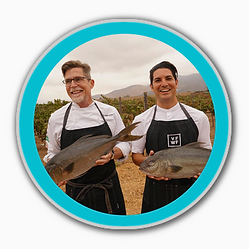Chef Rick Bayless and Chef Cody Requejo