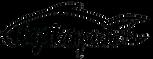 Baja Kanpachi Logo All Black with Shadow